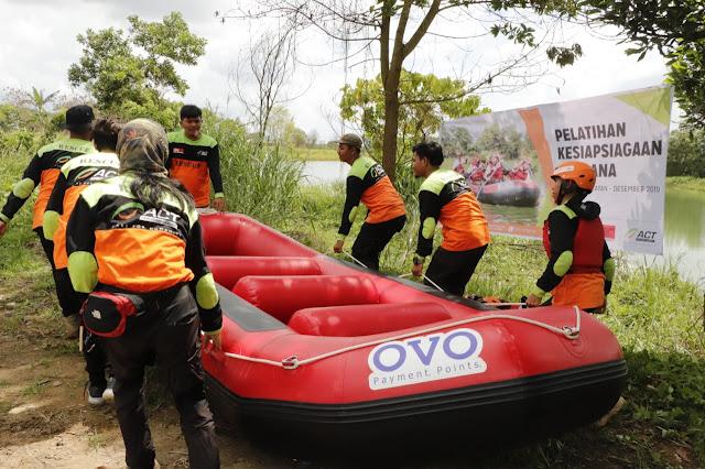Tingkatkan Kecakapan, ACT Sumsel Gelar Pelatihan Water Rescue