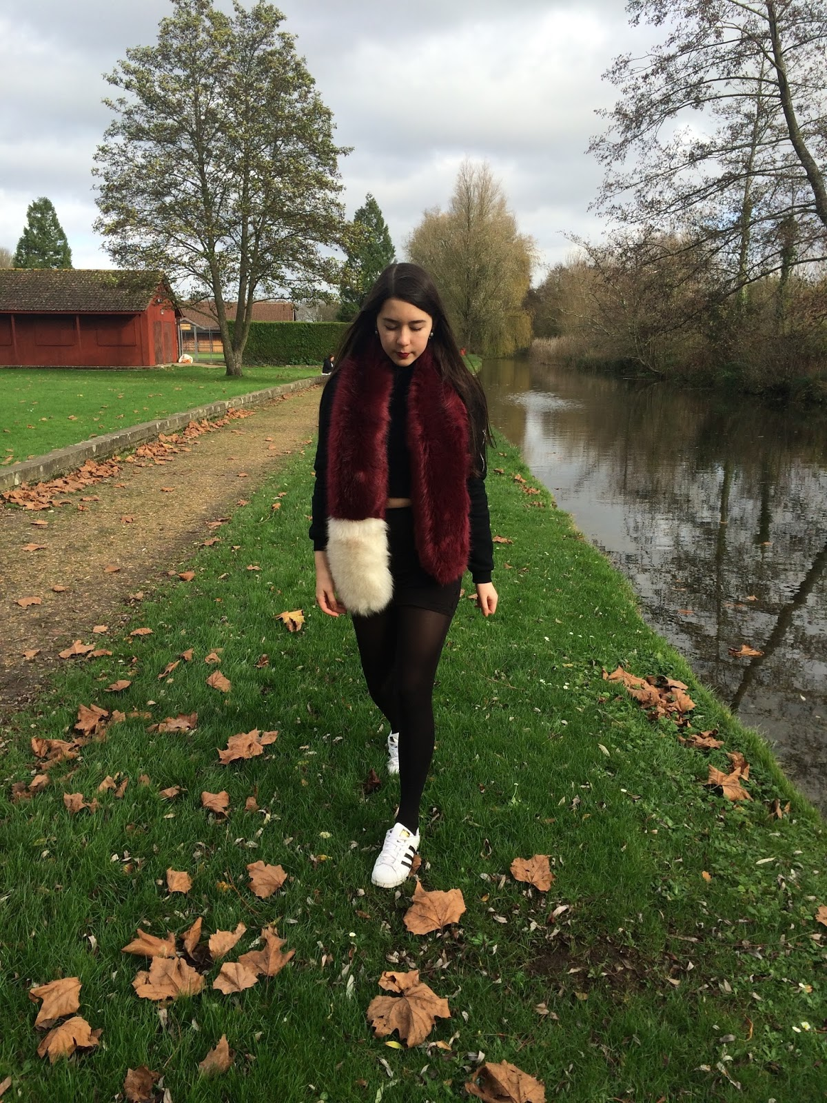 ootd, autumn winter fall, street style, inspiration, fashion blogger, fur stole