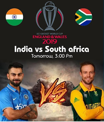 India vs south africa world cup match full details