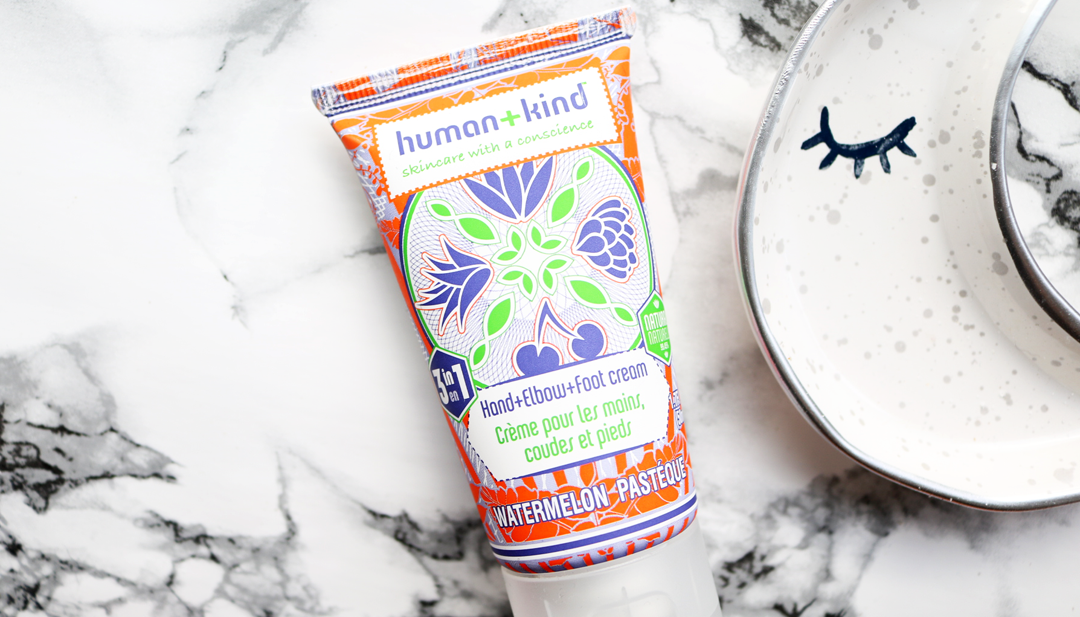 Human+Kind Watermelon Hand+Elbow+Foot Cream