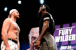 Tyson Fury Tatap Muka Sangar 5 Menit, Sumpah Pukul KO Deontay Wilder
