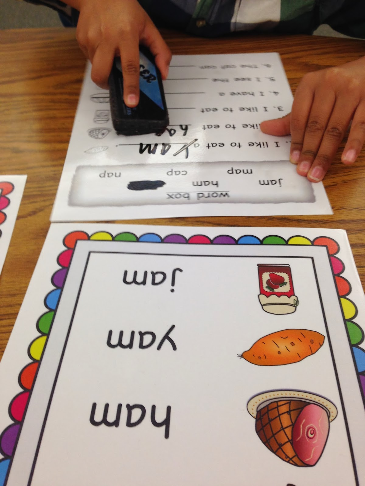 word families, first grade, word work classroom posters