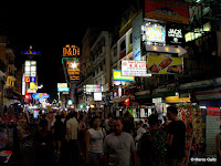KHAO SAN ROAD, BANGKOK. TAILANDIA