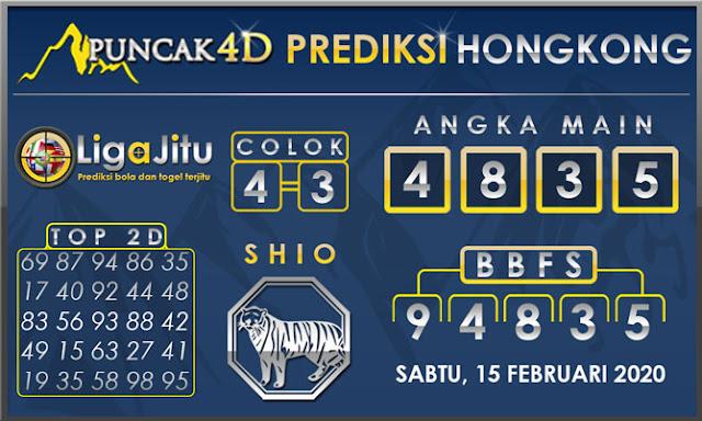 PREDIKSI TOGEL HONGKONG PUNCAK4D 15 FEBRUARI 2020
