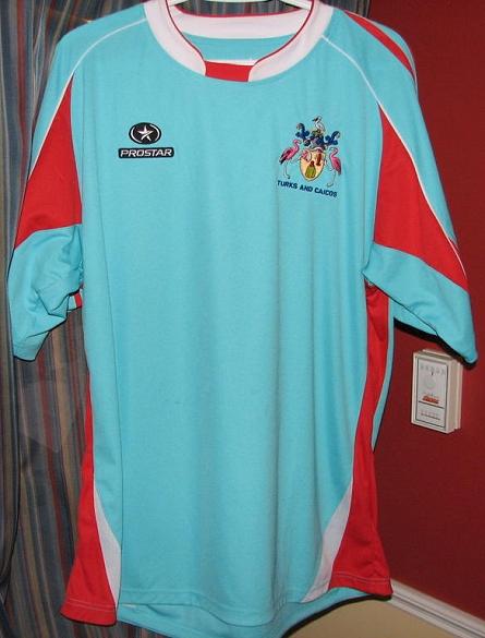 Turks e Caicos  Conheça a pior seleção da CONCACAF - Show de Camisas 4994f0b50503e