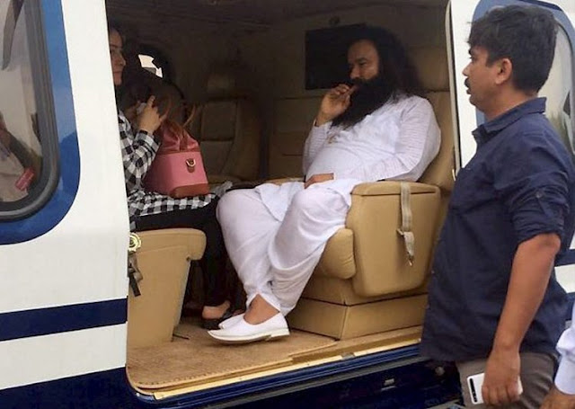 rapist-baba-ram-rahim-punishment-for-10-years-rohtak