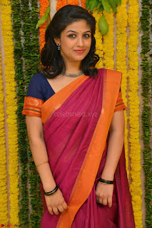 Supriya in Pink Saree Spicy Pics 012.JPG