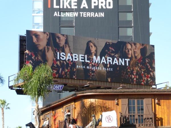 Isabel Marant FW17 billboard