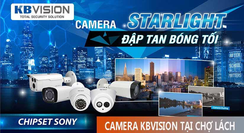 Lắp camera kbvision trọn gói tại chợ lách