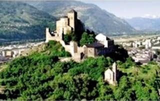 Valais castle