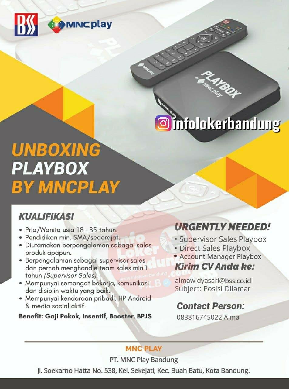 Lowongan Kerja  PT. MNC Kabel Mediacom Bandung Juli 2021