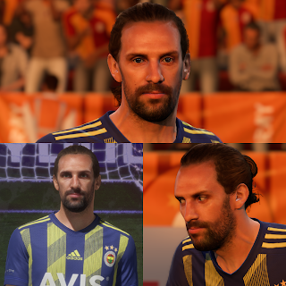 FIFA 20 Faces Vedat Muriq by EmreKaya