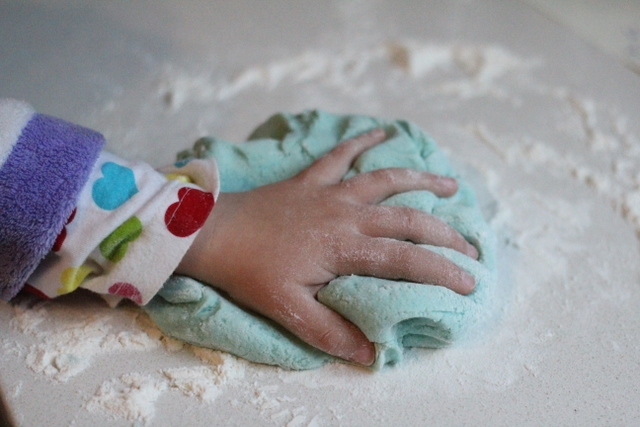 Cara Buat Homemade Playdough