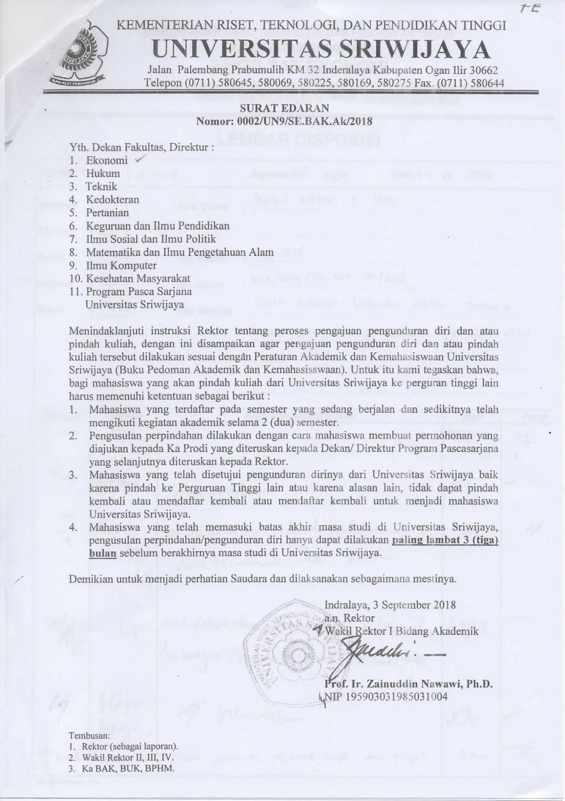View Surat Pengunduran Diri Kuliah Gif - Contoh Surat