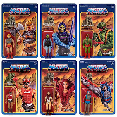 He-Man and the Masters of the Universe ReAction Retro Action Figures Wave 3 by Super7