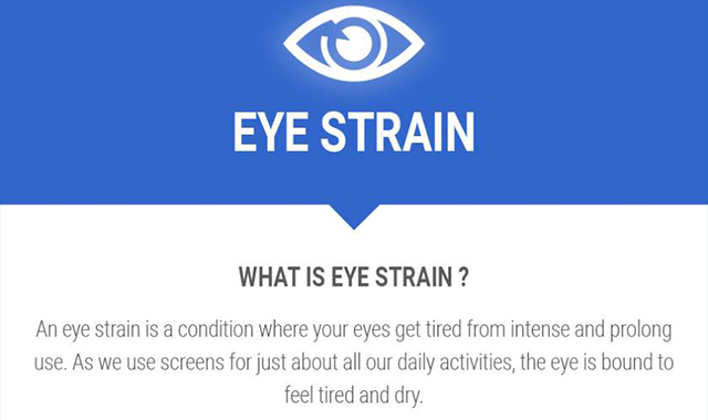 What is Eye Strain?