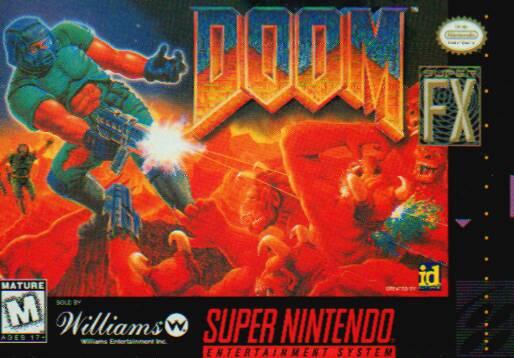 Doom - SNES - Portada