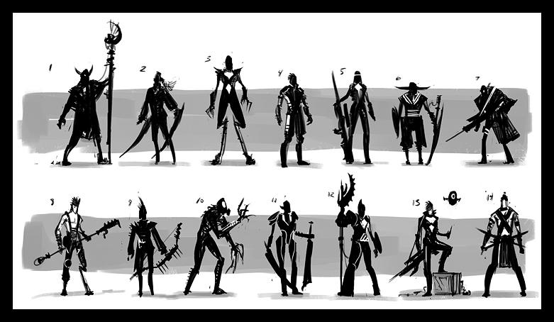 Jeremy Fenske Art Character design process