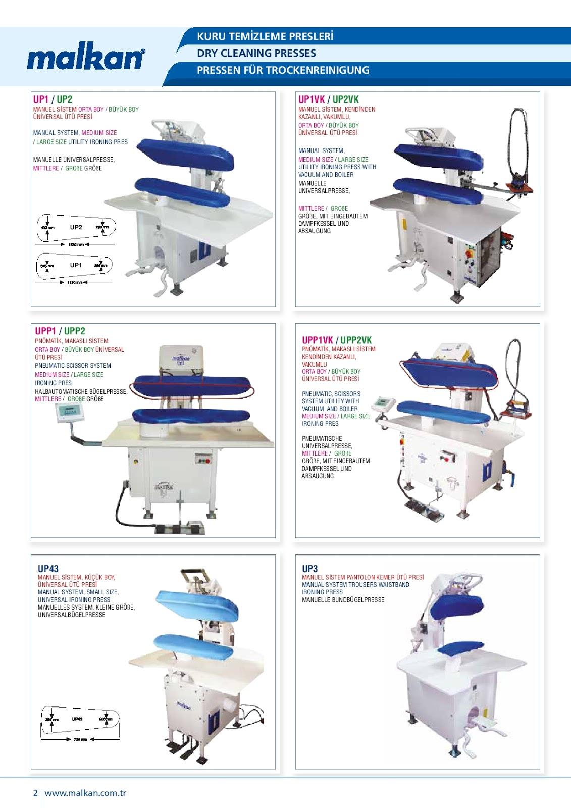 Máy là ép sử dụng trong nghành giặt khô