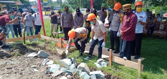 Polres Karawang Bangun Lima Unit Rumah Dinas Untuk Anggota Polsek Pedes