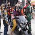 Operasi Razia Masker, Koramil 10/Mrebet Ikut Andil Bersama Ormas