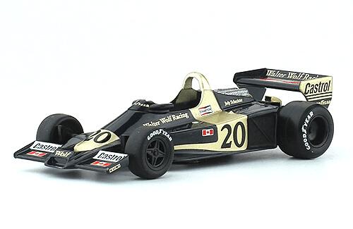 WOLF R1 1977 Jody Scheckter 1:43 Formula 1 the car collection salvat