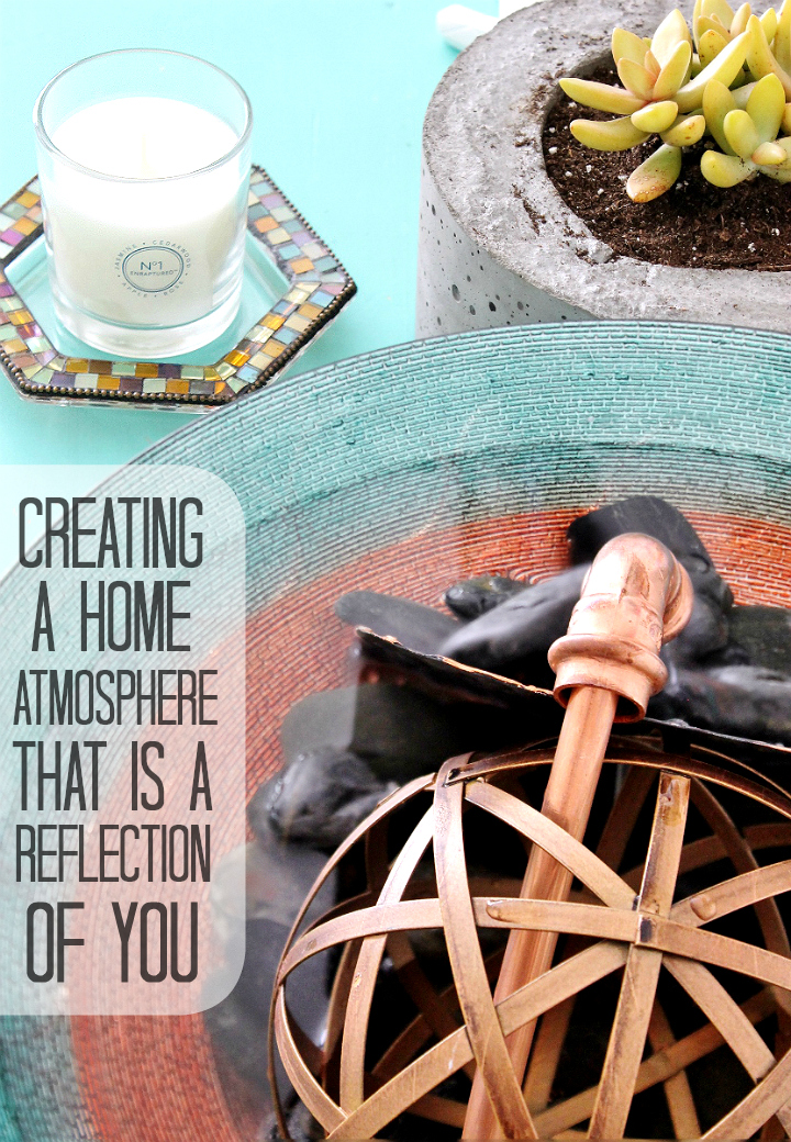 Create a transforming D.I.Y zen water fountain in under $20 and 20 minutes with this tutorial! #GladeAtmosphereCollection #AD