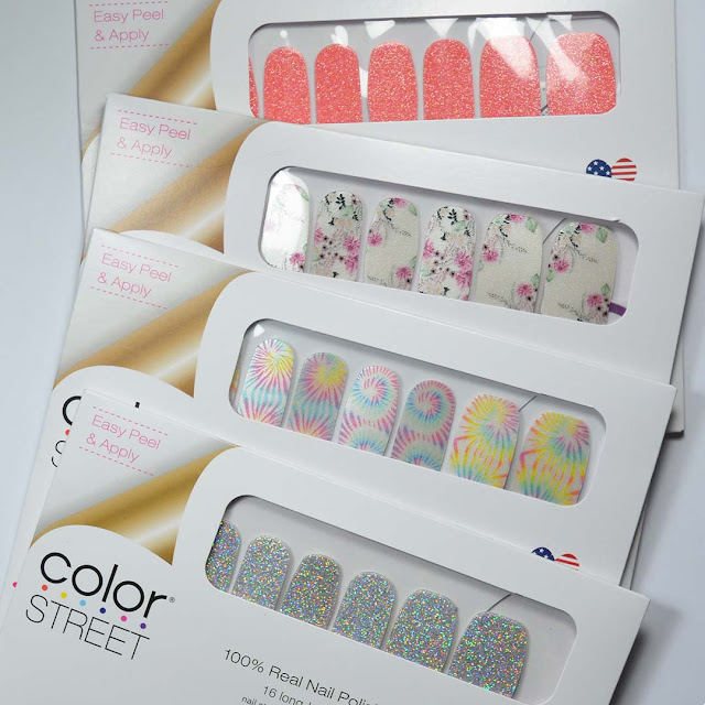 pattern nail polish strips