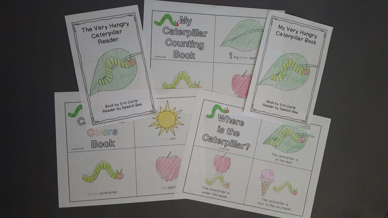 May Slp Must Have Very Hungry Caterpillar Complete
