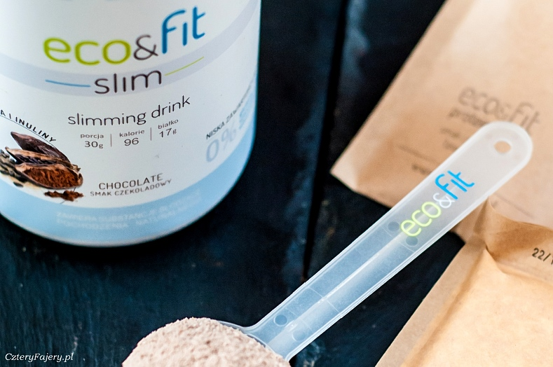 Koktajl bialkowy Eco Fit Slim wsparcie w odchudzaniu