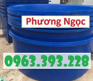 Thùng tròn nuôi thủy hải sản, thùng nhựa trồng cây, thùng đựng nước Qfbef1d4nv021