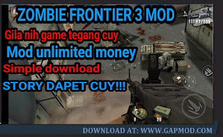 Download Zombie Frontier 3 v2.27 APK MOD Unlimited Money