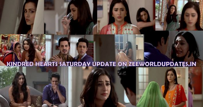 "Zee World Kindred Hearts 17th August 2019 Saturday Written Update "" Neha's Baby Shower Spoiled Blame On Jhanvi Aditya Supports her ""."