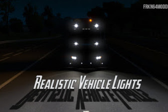 Realistic Vehicle Lights Mod v4.3 (by Frkn64)