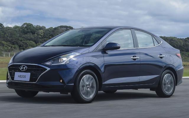 Novo Hyundai HB20S 2020 (sedã)