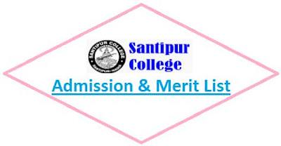 Santipur College Merit List