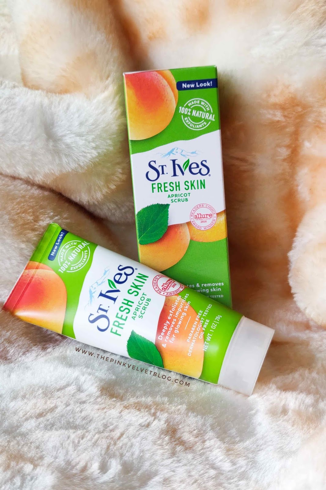 St.Ives Fresh Skin Apricot Face Scrub - Review