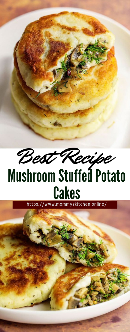 Mushroom Stuffed Potato Cakes #healthyfood #dietketo #breakfast #food