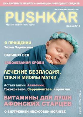 ЖУРНАЛ PUSHKAR №8 ВЕСНА 2019.