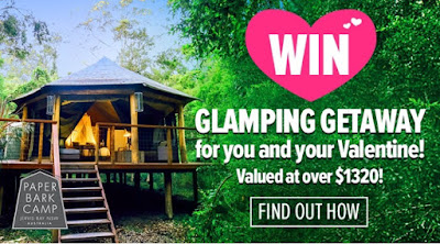 Win a Glamping Getaway at Paperbark Camp with Nourished Life!