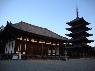 il tempio con la sua pagoda
