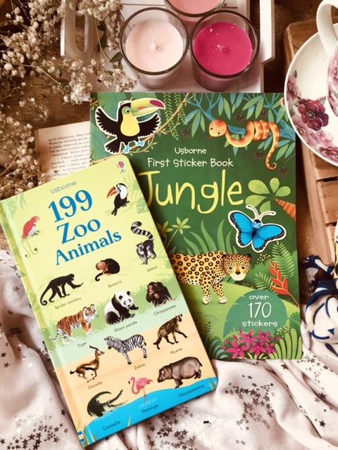 199 zoo animals // First sticker book jungle