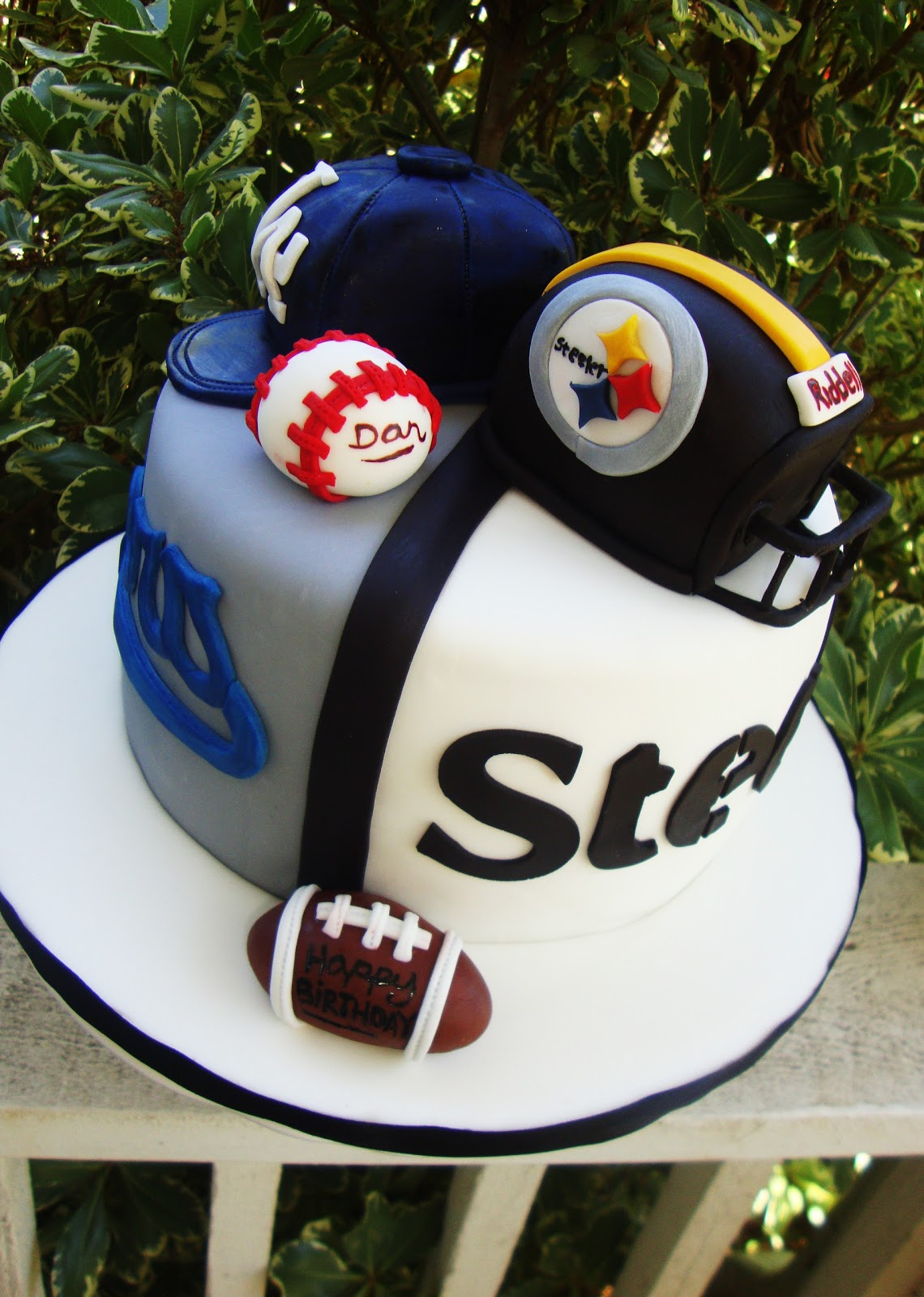 Cake Obsessions Dodgers Or Steelers