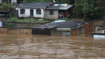 Θανατηφόρο κύμα κακοκαιρίας  στην Βραζιλία - 44 νεκροί