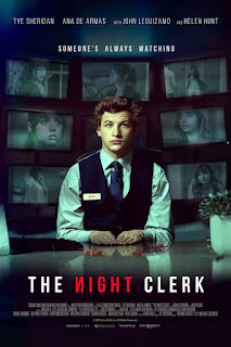 The Night Clerk 2020 English 720p WEBRip