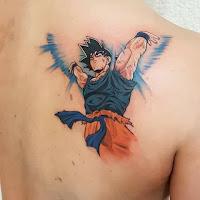 tatuaje goku Kame Hame Ha