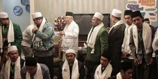 Ma'ruf Amin: NU Sudah Berjanji pada Pak Jokowi, NU akan All Out