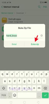 Metode Baru Cara Ganti Font Oppo A9 2020 Dengan Mudah Tanpa Root - Di Jamin Berhasil
