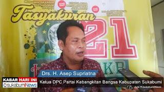 Ketua DPC PKB Kabupaten Sukabumi