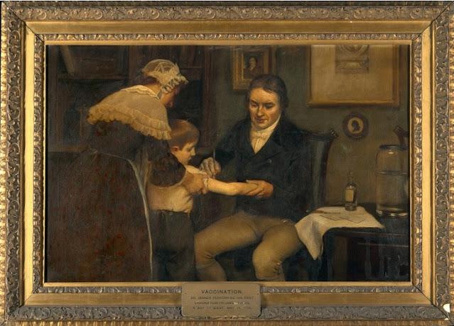 Edward Jenner vaksin anaknya